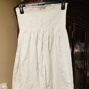 Old Navy White Coverup Dress EUC NWOT SZ SMALL